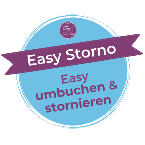 Easy umbuchen & stornieren